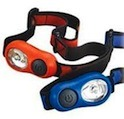 A two pack of head torches for kids. Simple and cost effective.