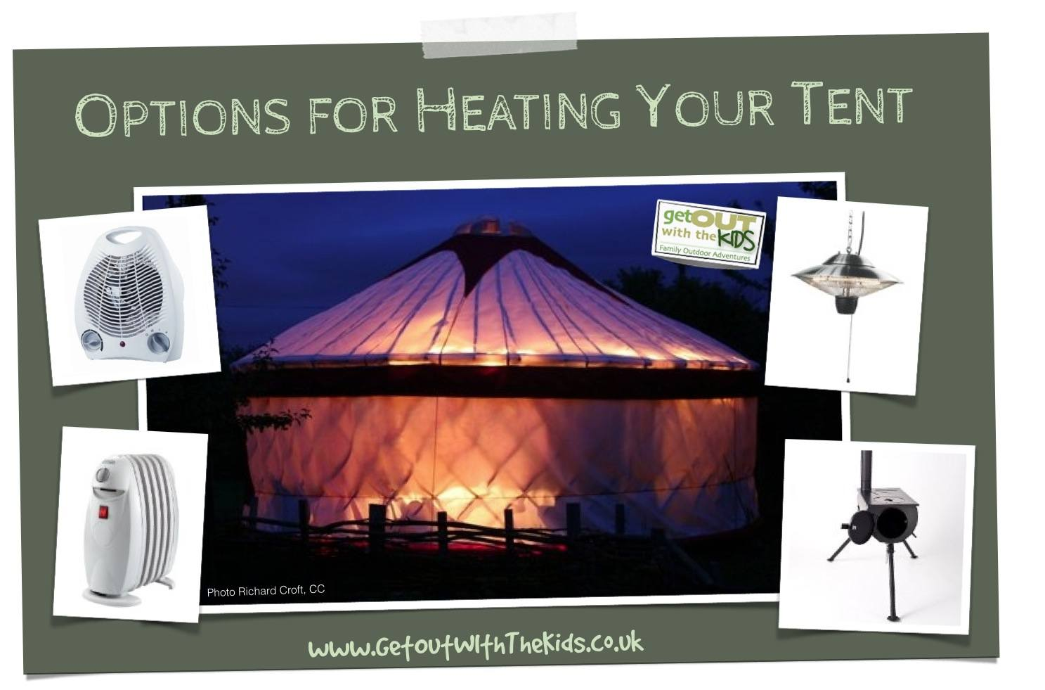 Options for Heating Your Tent