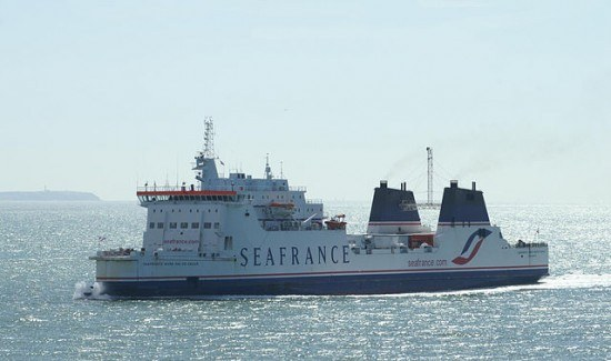 Sea France ferry on route to Calais in France - Photo by David Merrett