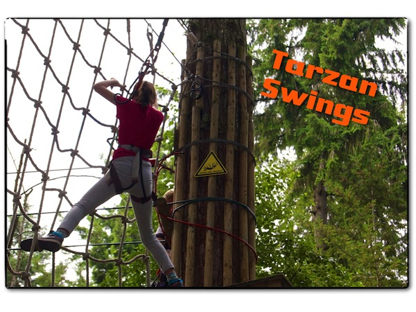 Go Ape Tarzan Swings