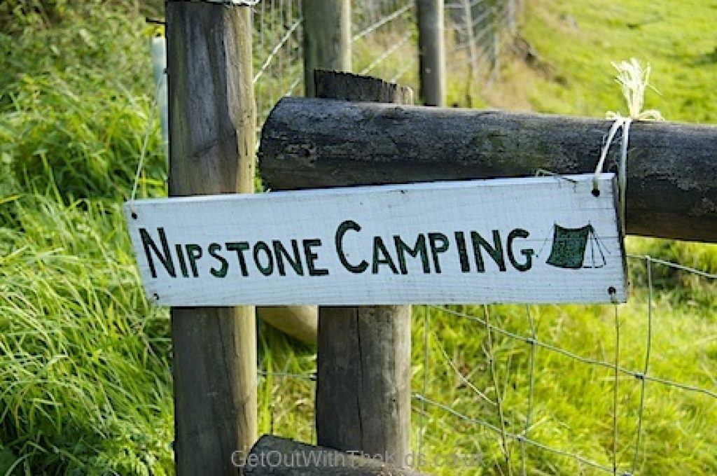 Nipstone Camping in rural Shropshire on the Stiperstones