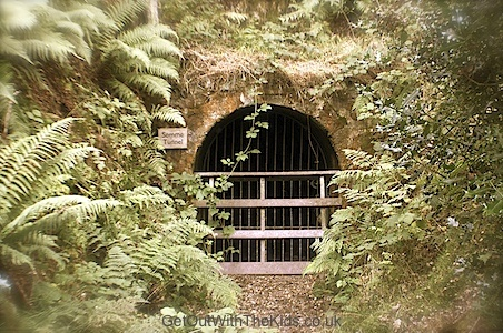 This is the Somme Tunnel at The Bog on the Stiperstones Hill in Shropshire. On open days you can go down this tunnel.