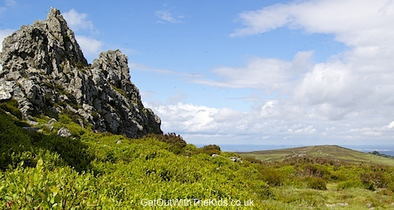 The Devils Chair on the Stiperstones