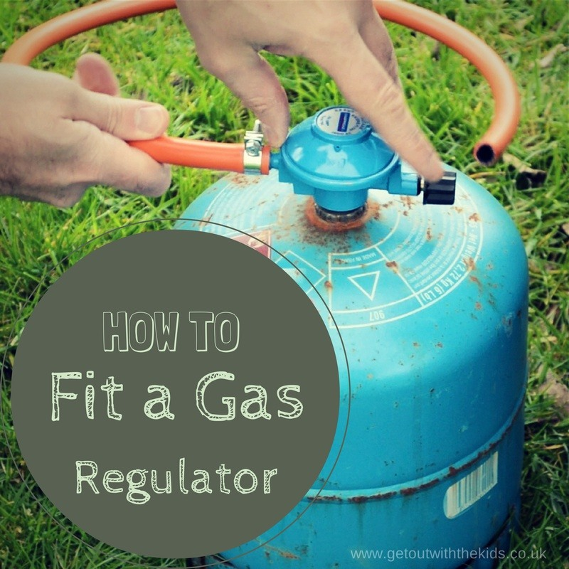 Fitting a gas cylinder regulator
