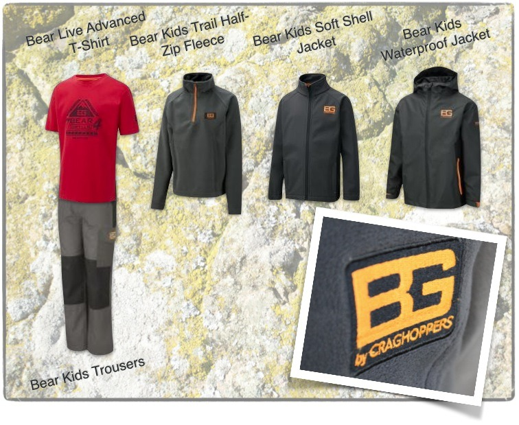 Bear Grylls Kids Range