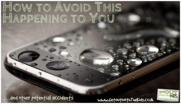 How to avoid your phone getting wet