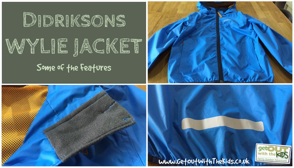 Didriksons Wylie Jacket Features