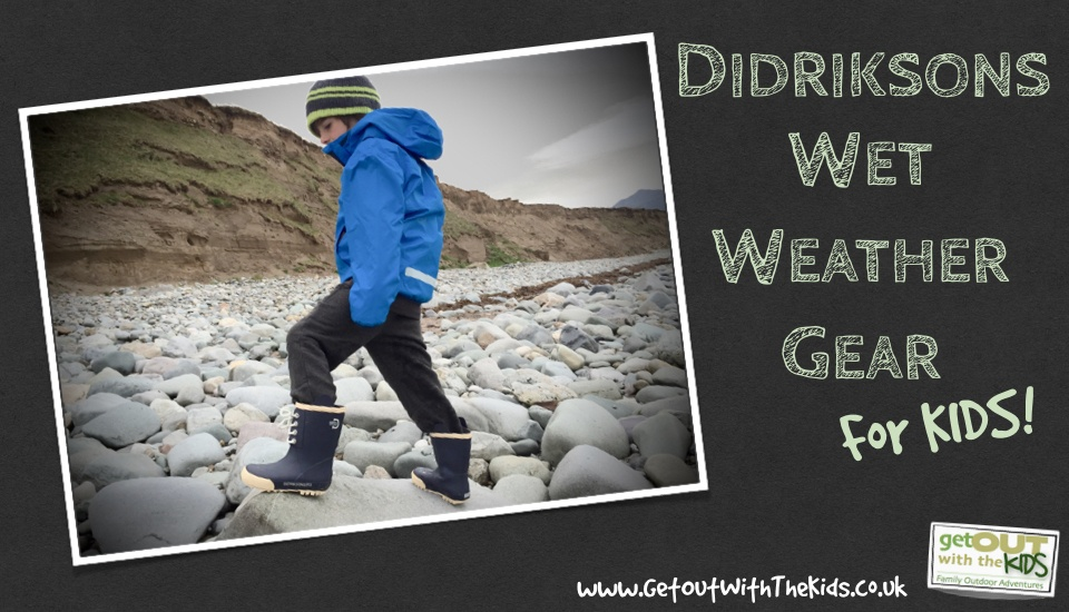 Didriksons wet weather gear for kids