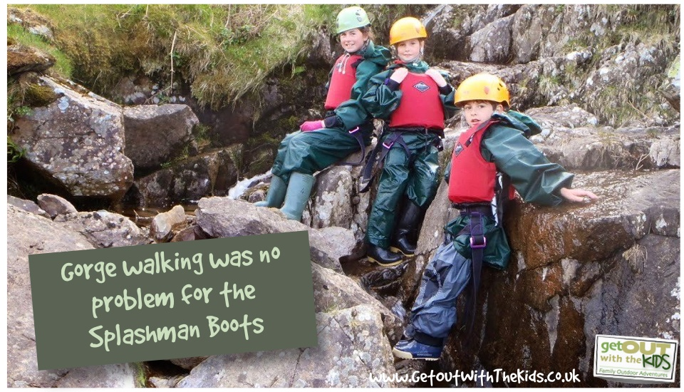 Gorge Walking with the Didriksons Splashman Boots