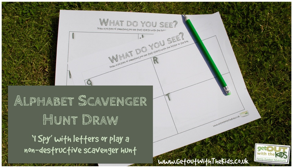 Alphabet Scavenger Hunt Draw