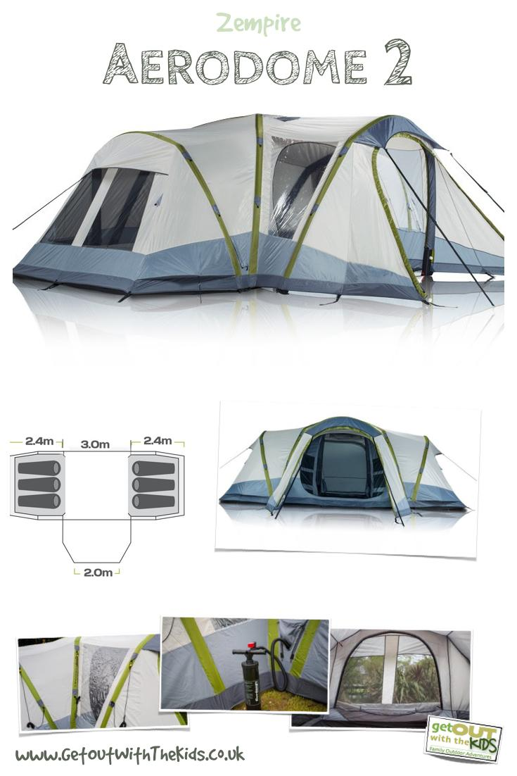 Zempire Aerodome II Features