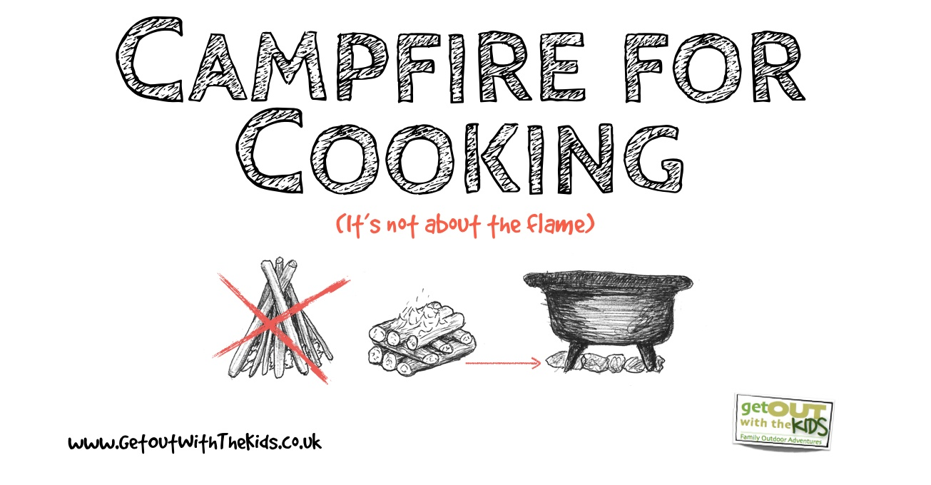 Campfire for Cooking