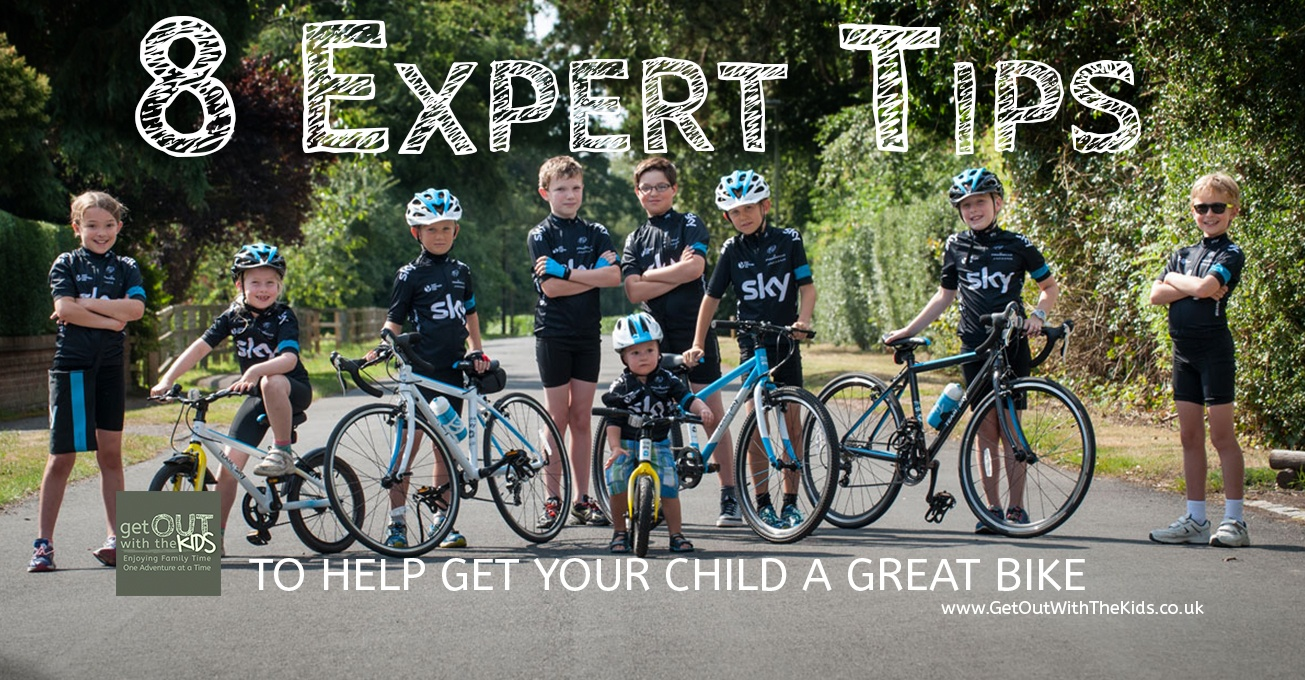 8 Expert Tips to get Your Child a Great Bike