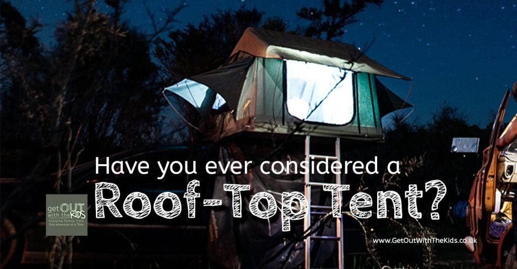 Have you ever considered a roof top tent?