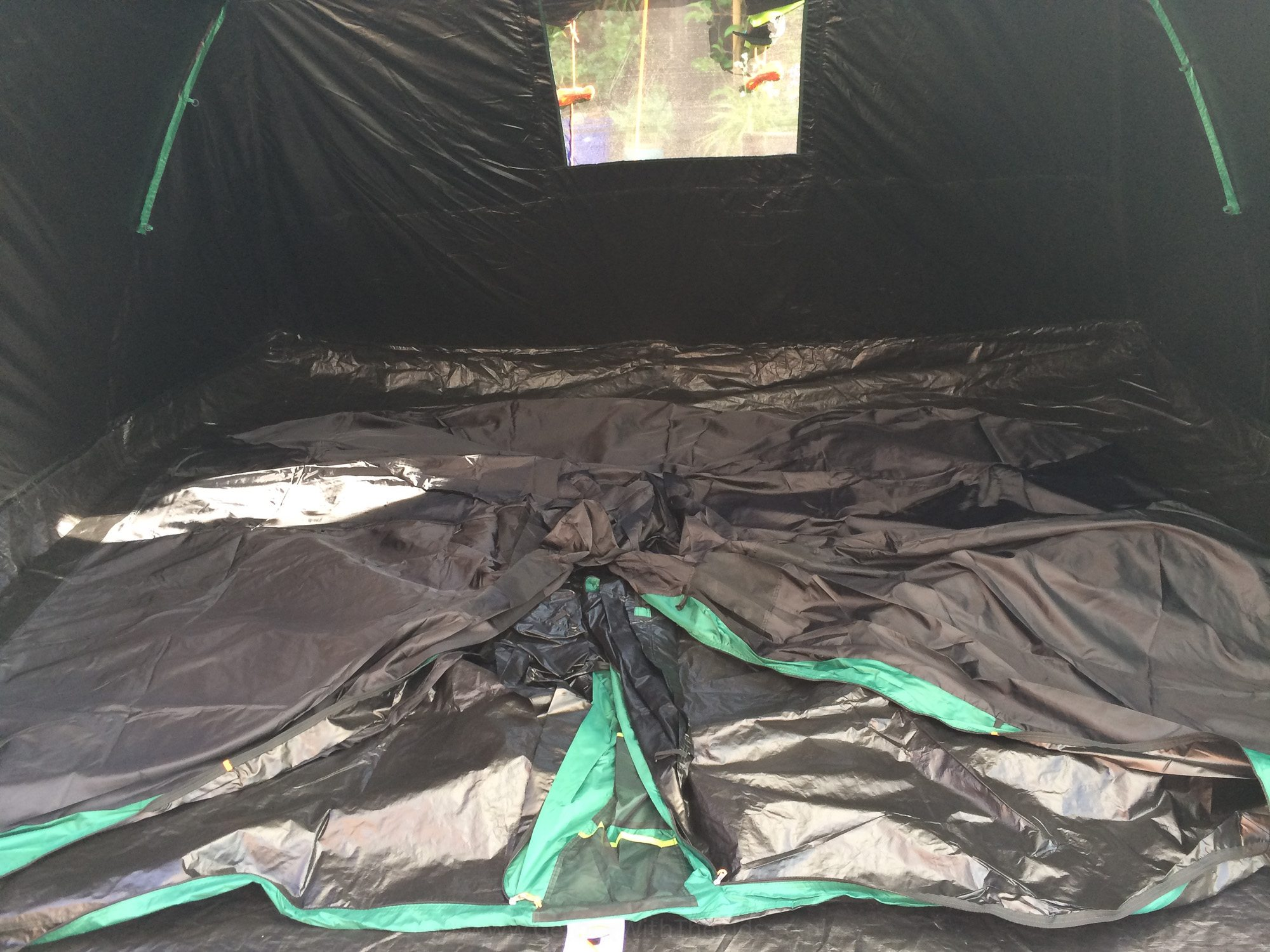 Inner tent ready for hanging