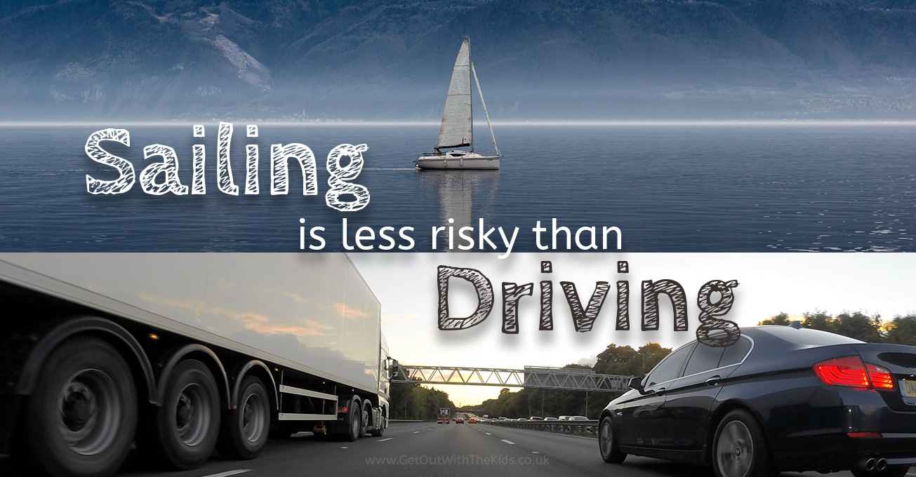 Sailing is less risky than driving