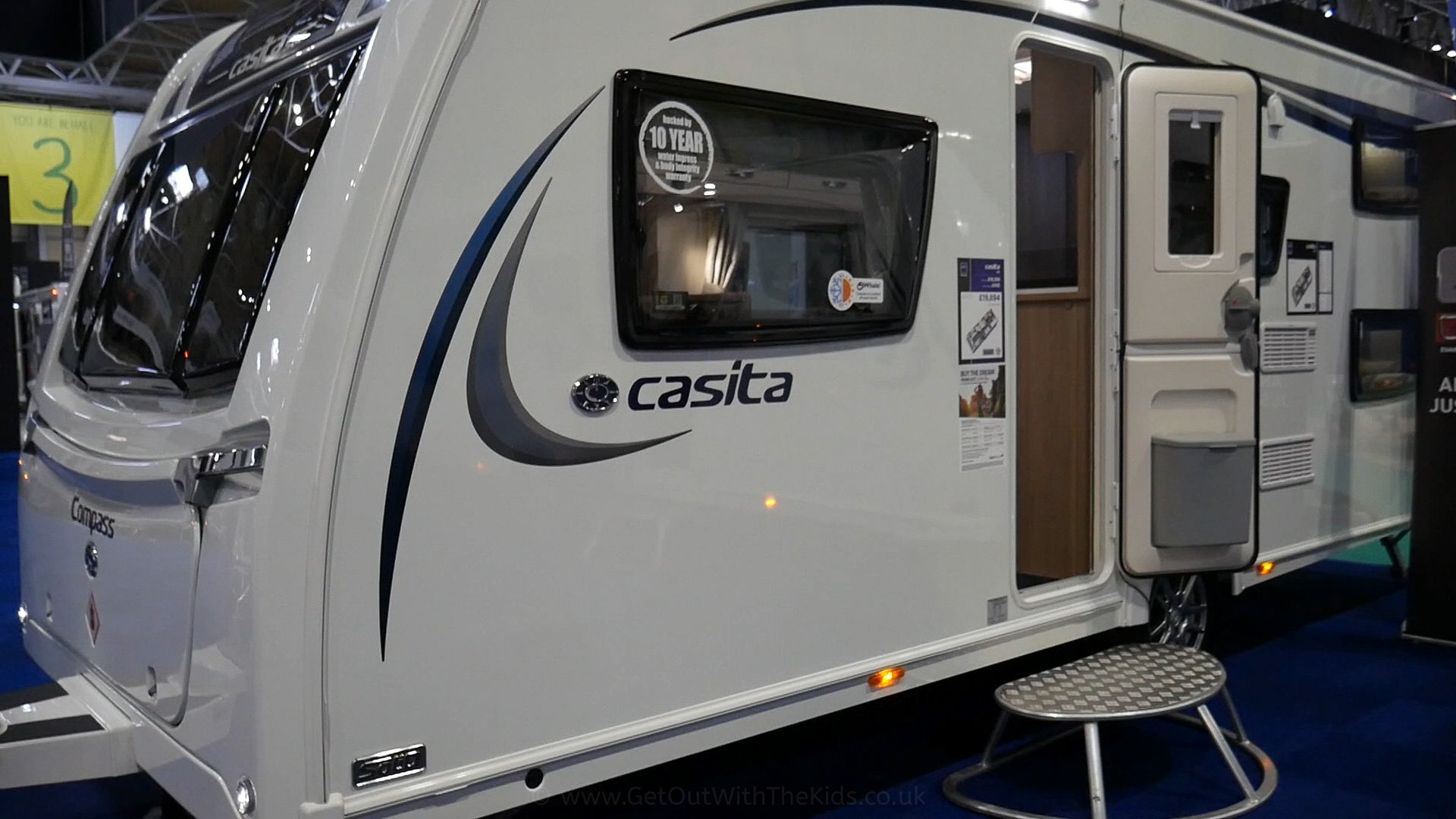 The Compass Casita 586 Caravan