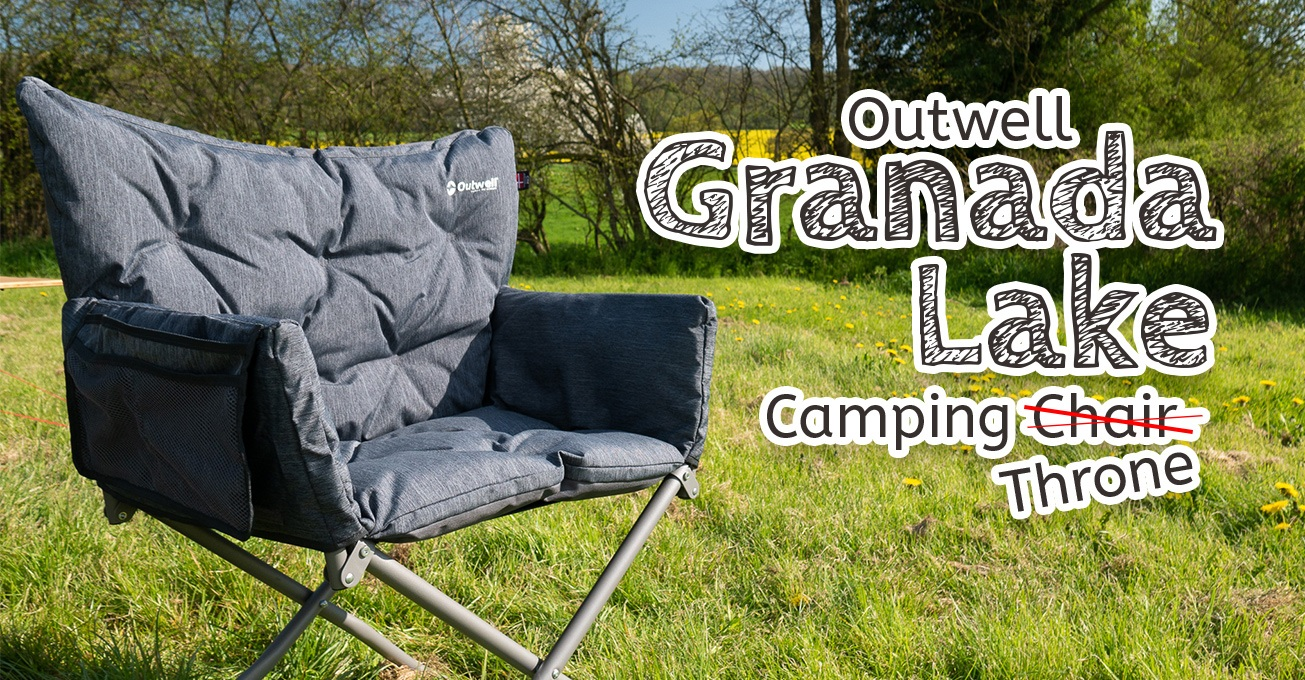 Outwell Grenada Lake Camping Chair (Throne!)