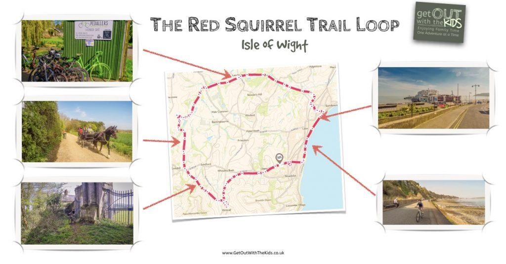 The Red Squirrel Trail Loop Map