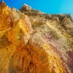 The colourful rocks of Alum Bay