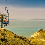 Chairlift at the Needles
