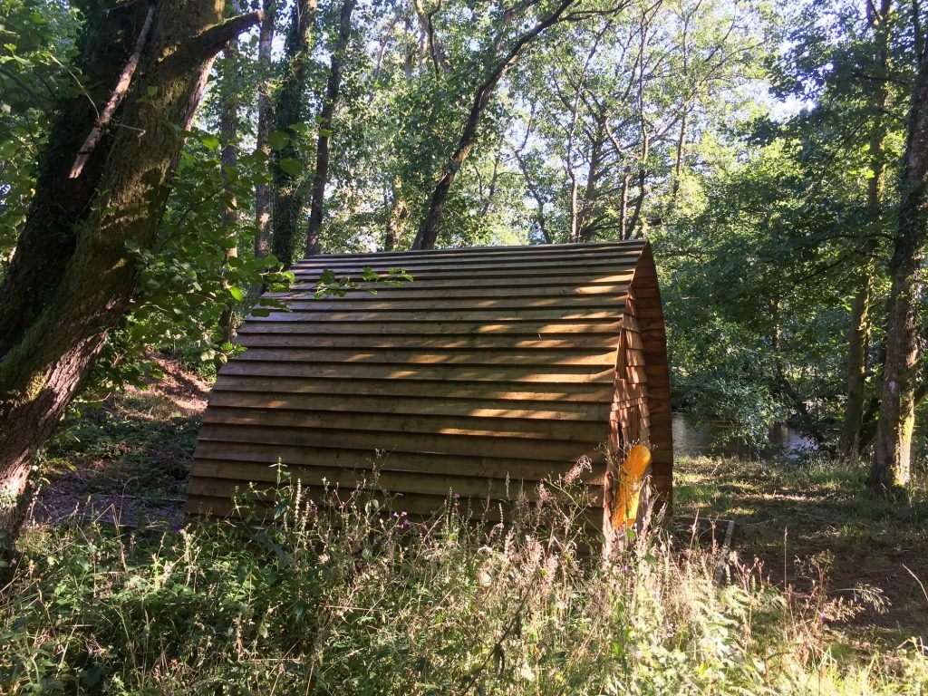 The Bird Hide at the campsite