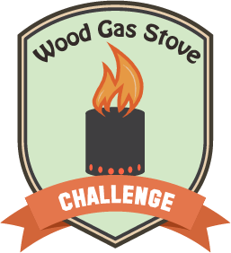 Wood Gas Stove Badge