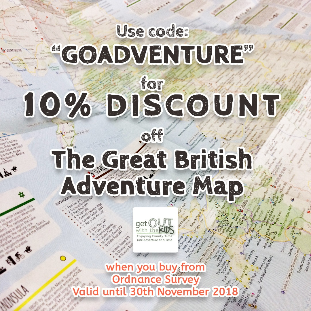 The Great British Adventure Map Discount