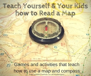 Teach how to read a map
