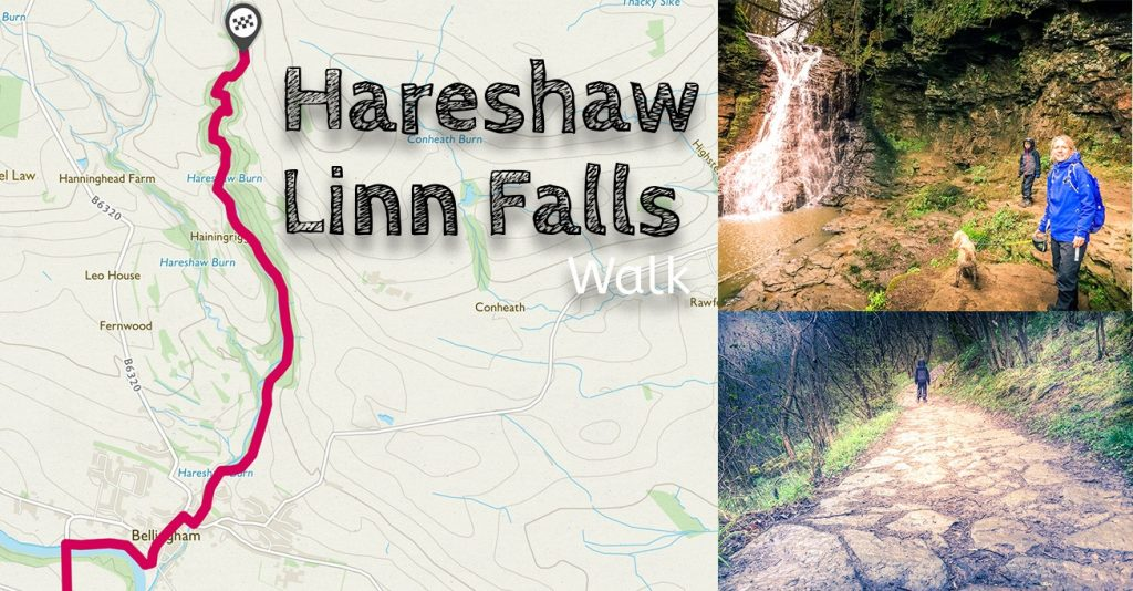 Hareshaw Linn Falls Walk