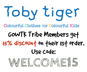 Toby Tiger Welcome Discount
